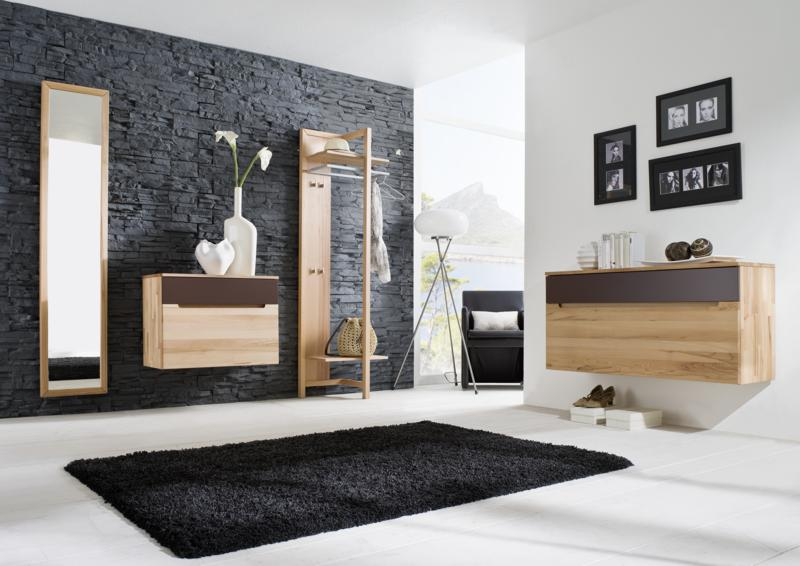 dielenschrank garderobe kernbuche dielenm bel online kaufen. Black Bedroom Furniture Sets. Home Design Ideas