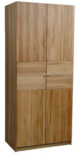 Kleiderschrank 2 türig Kernbuche massiv Holz