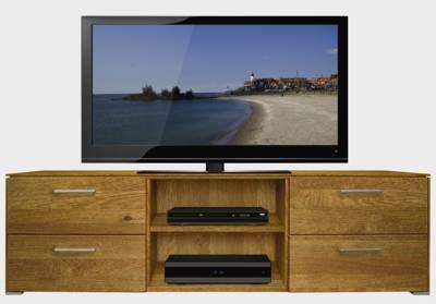 tv board in kernbuchenholz massiv holz tv schr nke. Black Bedroom Furniture Sets. Home Design Ideas