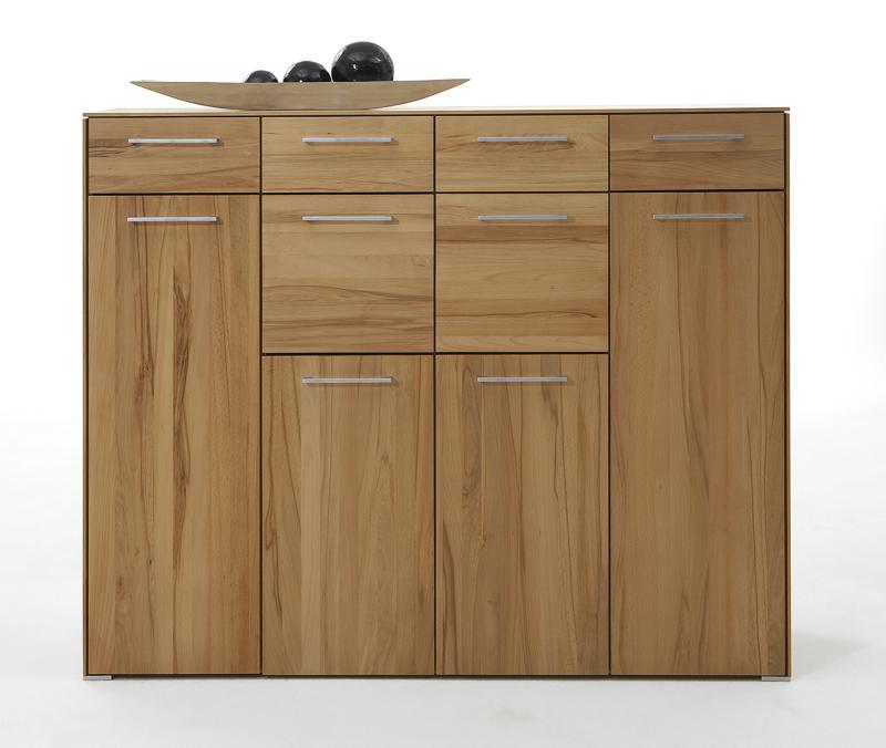 Highboard kernbuche vollmasiv Holz kernbuche